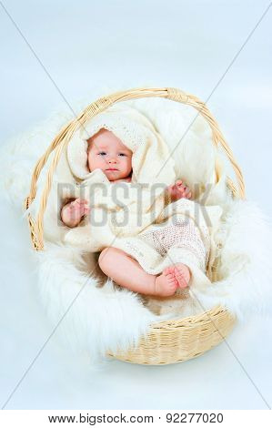 The Kid In A Basket