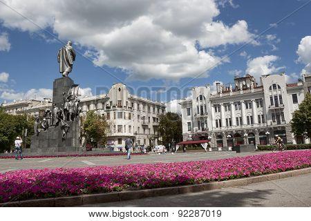 Shevchenko Monument In Kharkiv