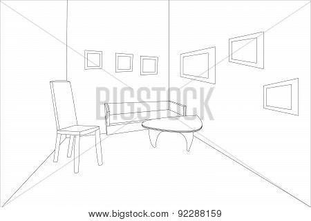 outline sketch