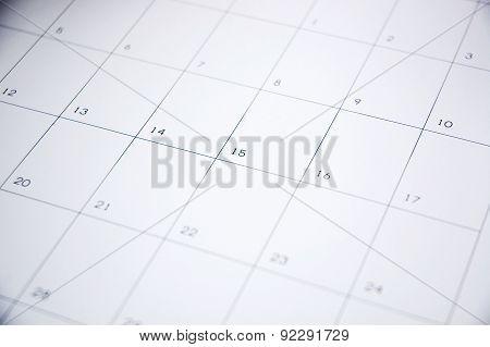 Blank Schedule