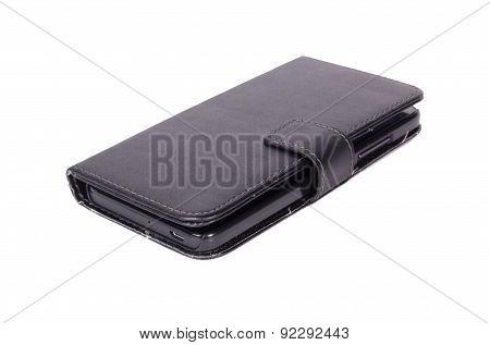 Smart phone in wallet case