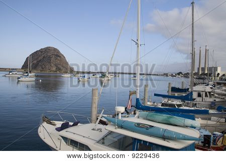 Yachts in morro bay
