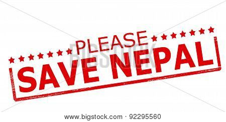 Please Save Nepal
