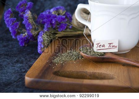 Tea On Spoon