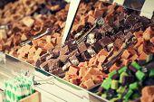 stock photo of chocolate fudge  - fudge - JPG