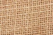 stock photo of sackcloth  - Background with the old sackcloth close up - JPG