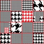 image of quilt  - Seamless background pattern - JPG