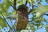 image of nesting box  - A nesting box - JPG