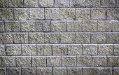 picture of cinder block  - Texture and pattern of concrete block wall background - JPG