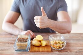 picture of gesture  - healthy eating - JPG