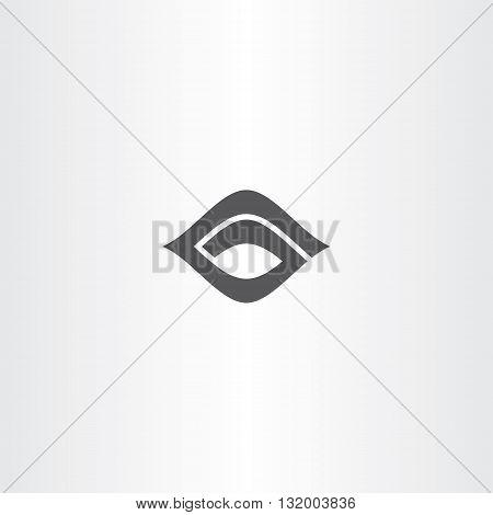 Black Icon Letter G Logo Logotype G Vector