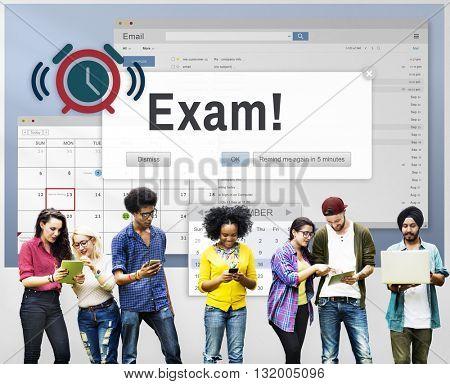 Exam Education Achievement Grade Score Concept