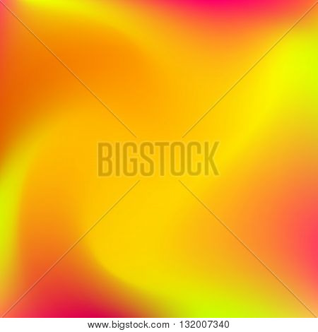 Abstract gradient blur background with red, orange, yellow and maroon colors for deign concepts, web, presentations and prints. Vector illustration.