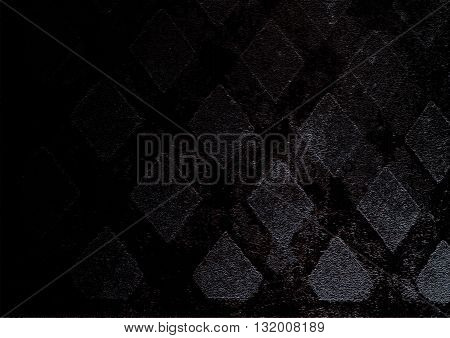 Black concrete floor on the street backgrounds