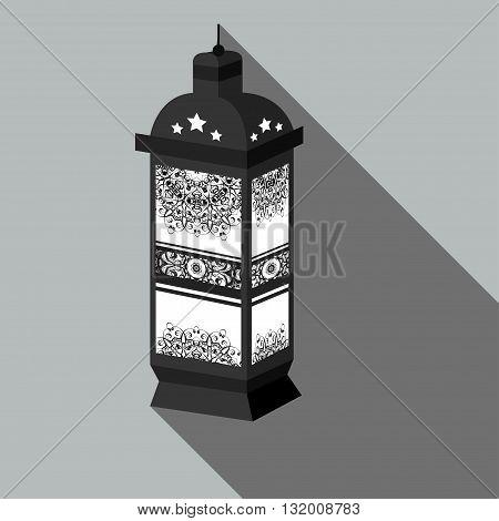 Illustration of the Ramadan Lanterns Ramadan Kareem. Vector EPS