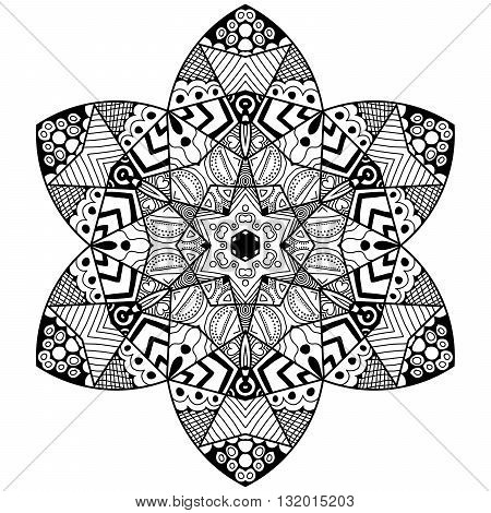 Mandala Flowery Element