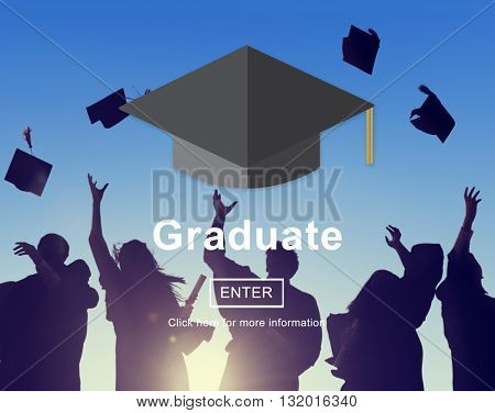Graduate Education Learning Academic Concept