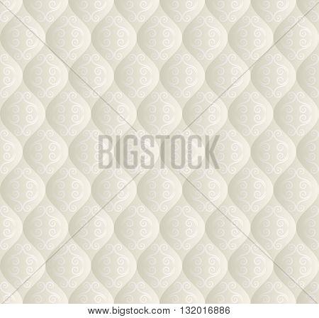 vintage pattern seamless or decorative background - vector illustration