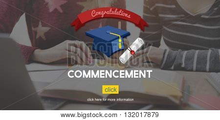 Graduation Knowledge Success Education Concept