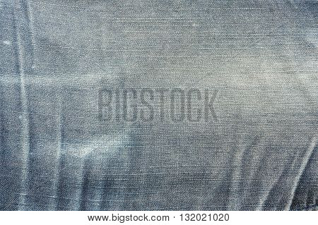 Close up texture of blue jean or denim Grunge denim or blue jeans texture Blue denim that can be used as background