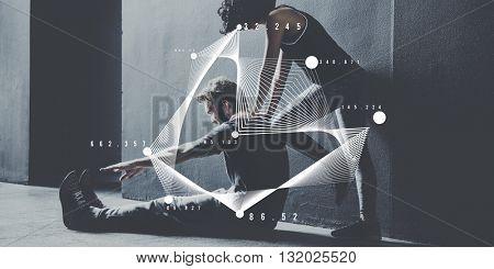Data Analytics Technology Graphic Concept