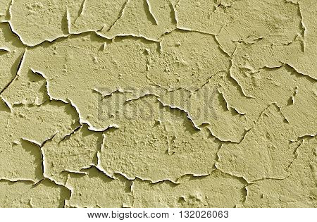 Abstract Cracked Cement Wall Texture.