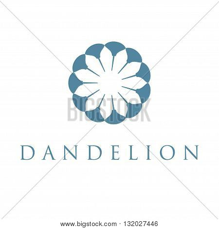 Illustration Of Concept Dandelion. Vector