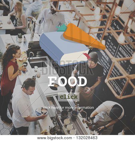 Food Menu Healthy Ingredients Delicious Concept