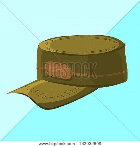 Military cap military hat military cap isolated