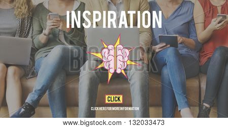 Inspiration Inspire Motivation Vision Concept