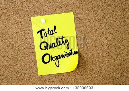 Business Acronym Tqo Total Quality Organization