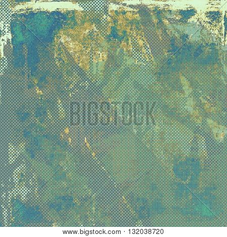Abstract colorful background or backdrop with grunge texture and different color patterns: yellow (beige); brown; green; blue; gray; cyan