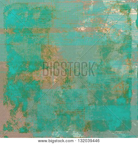 Abstract vintage colored background. With different color patterns: yellow (beige); brown; green; blue; gray; cyan