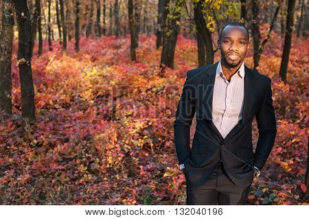 Afro American Business Man Portrait01