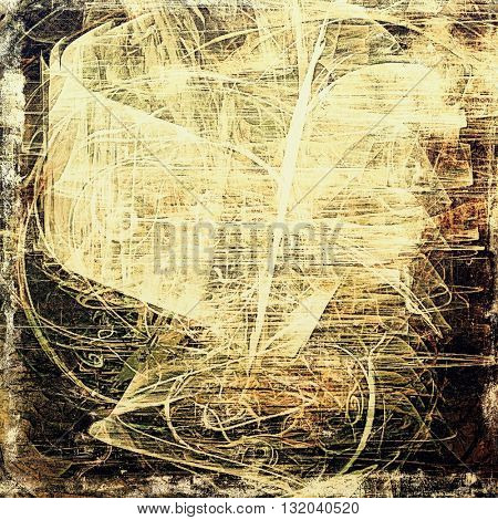 Abstract colorful background or backdrop with grunge texture and different color patterns: yellow (beige); brown; gray; white; black