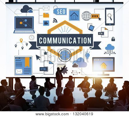 Connection Communication Digital Networking Concept