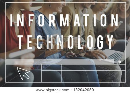 Technology Online Media Communication Networking Concept