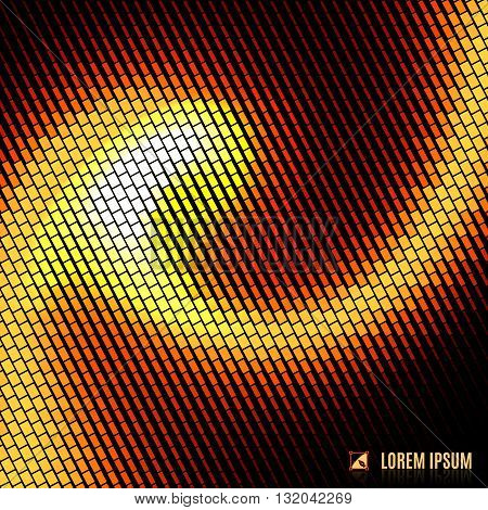 abstract blurred curve decorative background with halftone geometric element spiral stream swirl and vortex