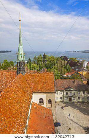 Boden Lake, Konstanz City, Baden-wuerttemberg, Germany
