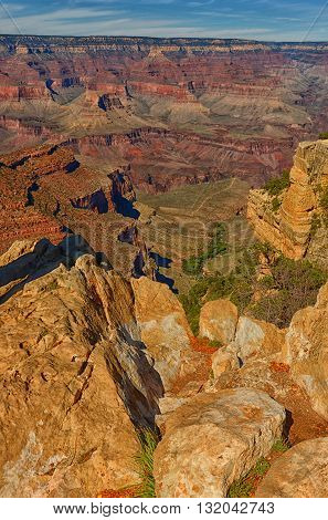 Famous landmark in the american southwest - Grand Canyon