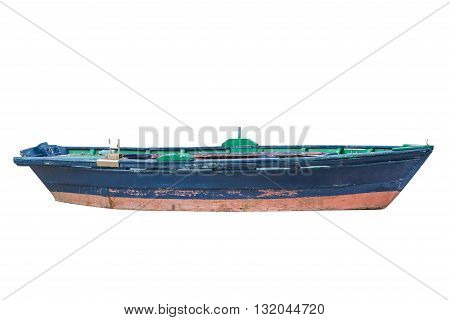 image of fishing boat Isolated on white background