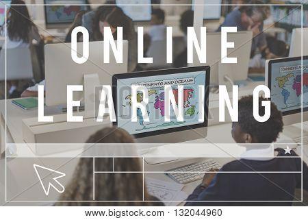 Online Digital Technology Media Networking Concept