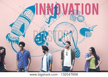Innovation Ideas Creativity Imagination Light Bulb Concept