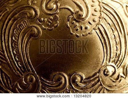 Vintage antique metal frame