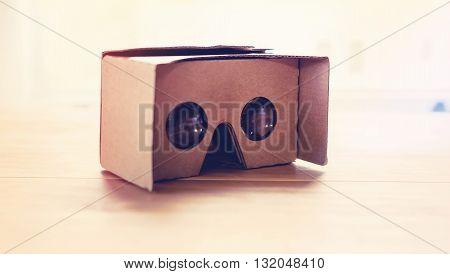 Virtual Reality Cardboard Headset