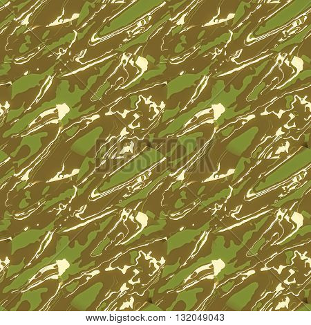 Modern camouflage pattern. Seamless background tile for military clothing prints, vehicles and game design.