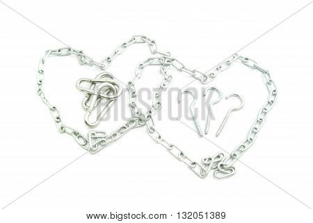 Two Hearts Of Metal Chains