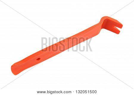 Red Plastic Crowbar
