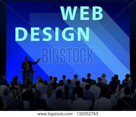 Web Design Ideas Layout Website Technology Concept