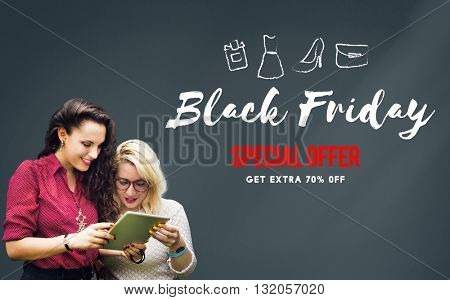 Shopping Sale Discount Offer Promotion Concept